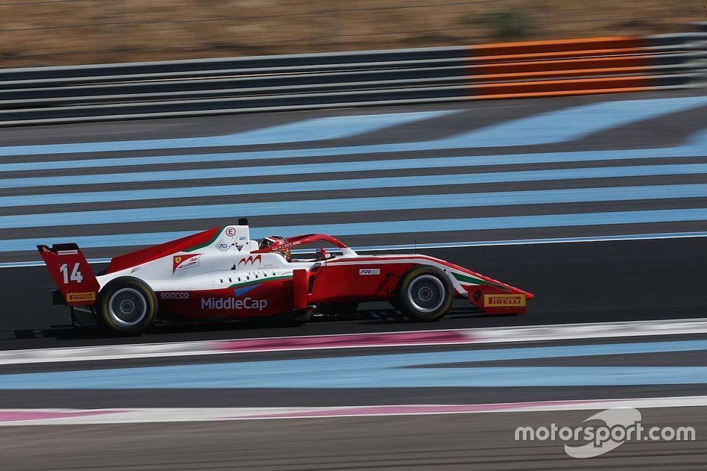 Formula Regional, Paul Ricard: Leclerc precede Petecof in Gara 3
