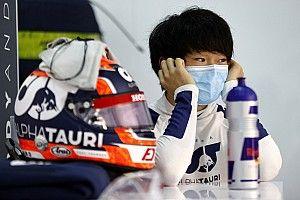 平常心で臨んだ初のF1テスト。しかしマシン性能は想像以上「首を鍛えないと」と角田裕毅