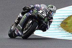 Australia MotoGP: Vinales tops FP1, Quartararo crashes