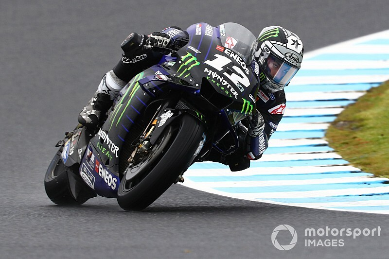 Avustralya MotoGP 1. antrenman: Vinales lider, Quartararo kaza yaptı