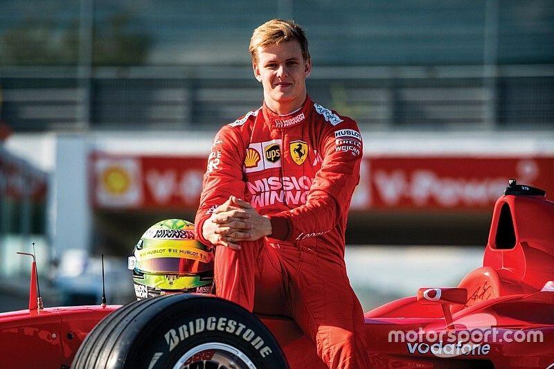 """Ferrari """"pretty sure"""" Schumacher will be F1 seat contender"""