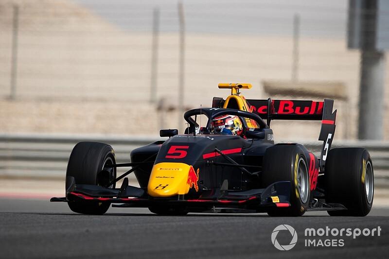 F3, Test Bahrain, Giorno 2: fulmine Lawson