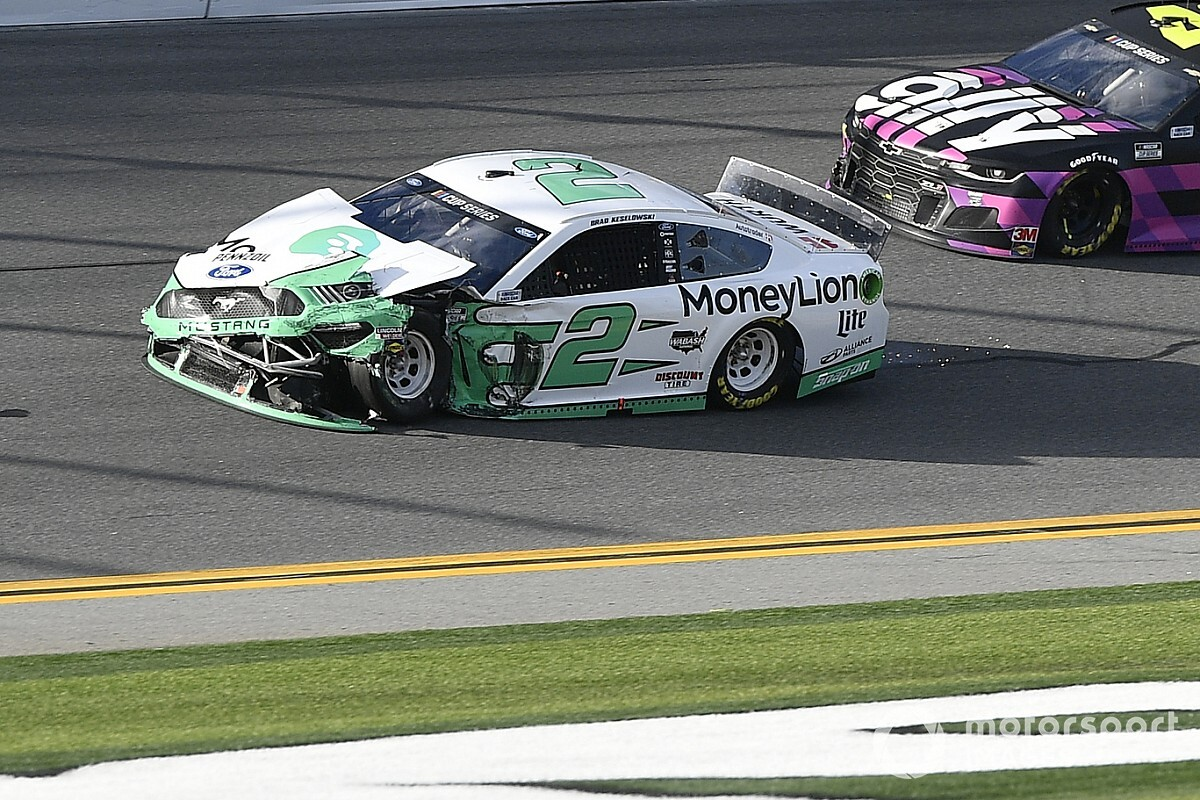 "Keselowski: My Daytona 500 frustration level is ""pretty extreme"""