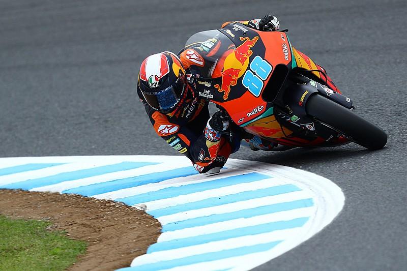 Moto2, Phillip Island, Libere 2: Martin brilla nel dominio KTM
