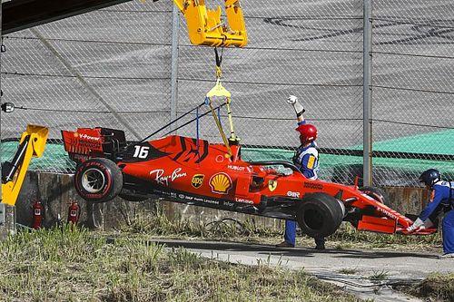 VIDEO: El desastre de Ferrari en Brasil