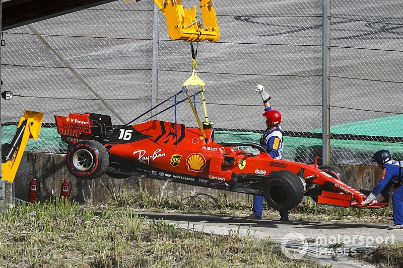 VIDEO: El desastre de Ferrari en Brasil