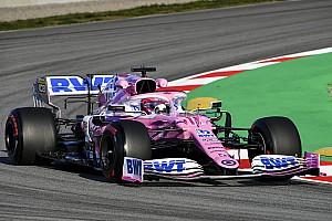 2020 Barcelona testi 2. gün: Sabah bölümünün en hızlısı Perez!