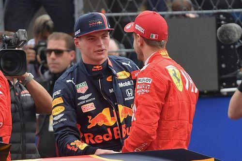 """Vettel: """"Los comentarios de Verstappen fueron inmaduros"""""""