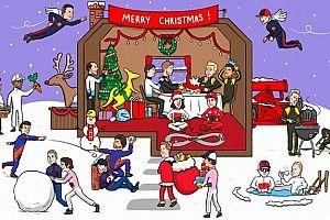 Pilotos, equipos y circuitos felicitan la Navidad