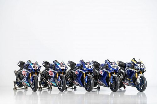 Photos - Les Yamaha engagées en WorldSBK en 2020