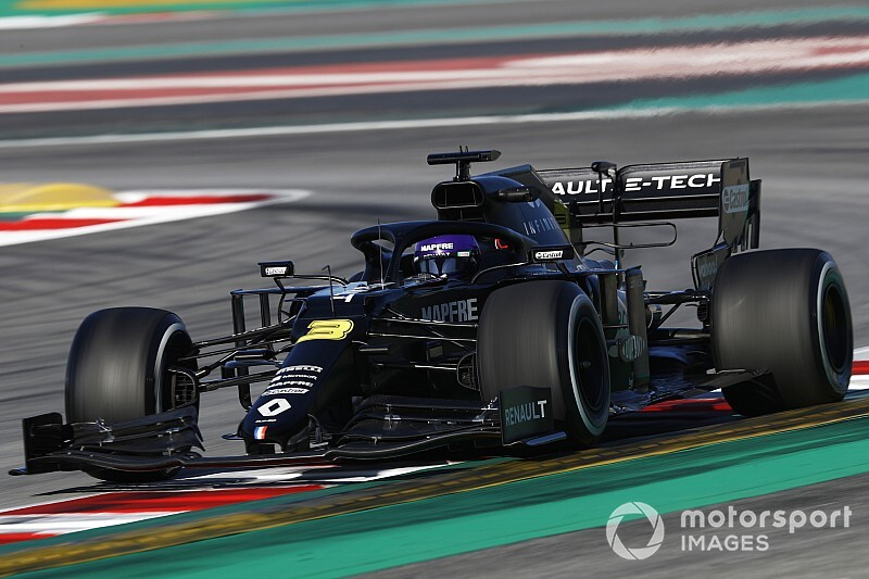 Ricciardo tops final morning of testing from Leclerc