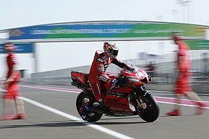 Ducati y Aprilia paran las máquinas