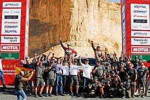 Galería: el Dakar 2020 de Alonso y Coma, en fotos
