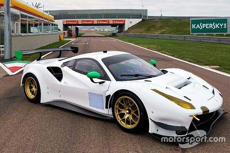 Primi giri a Fiorano per la WeatherTech Racing con la Ferrari Evo