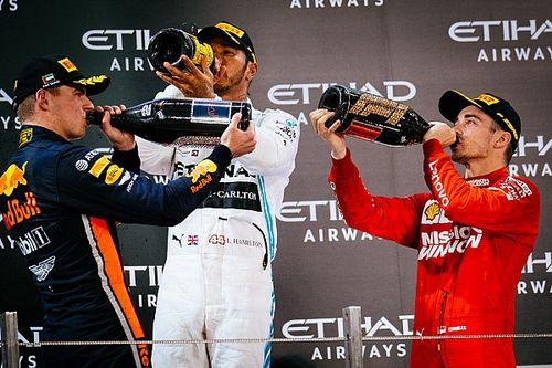 La F1 eliminará la tradicional ceremonia de podio en 2020