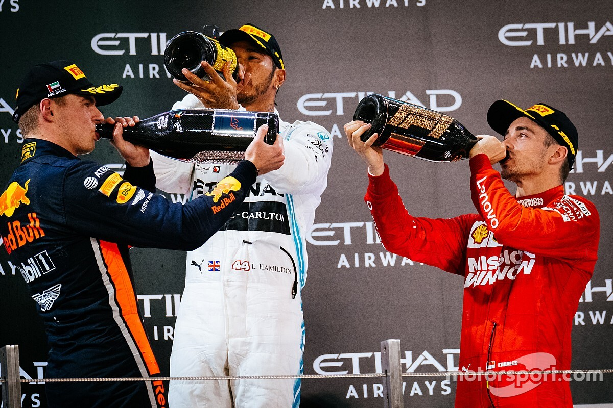 F1 to scrap traditional podium ceremony for 2020