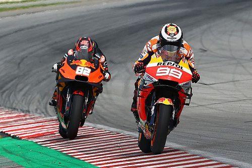 À défaut d'être rapide, Lorenzo retient sa régularité en course