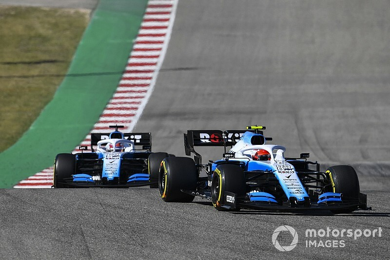 Williams nie miał tempa