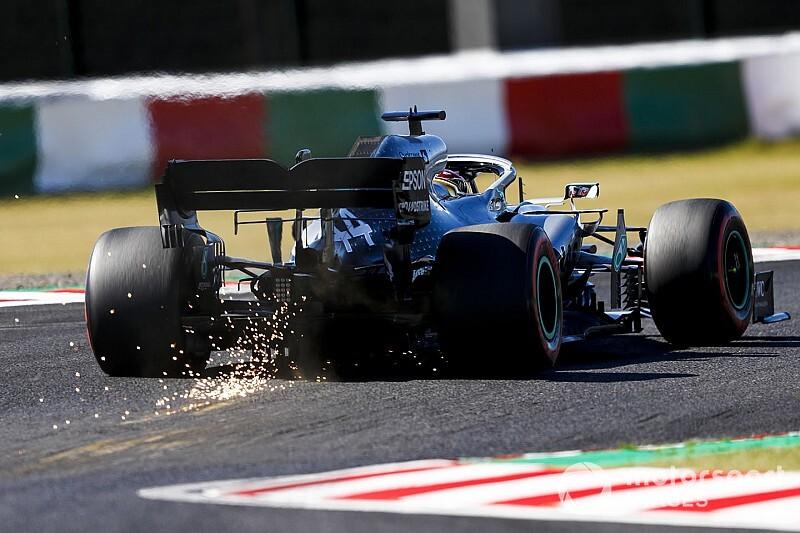 """Hamilton impuissant face à des Ferrari qui """"sortent de nulle part"""""""