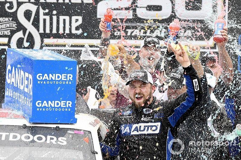Sauter stripped of Truck victory, Boyd named Talladega winner