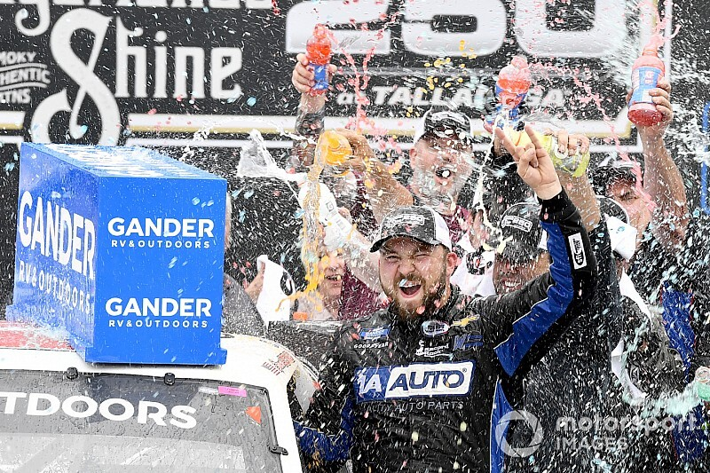 Sauter stripped of Truck victory, Boyd named Talladega winner