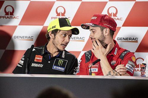 Rossi Senang Dovizioso Jadi Tandem Terakhirnya di MotoGP