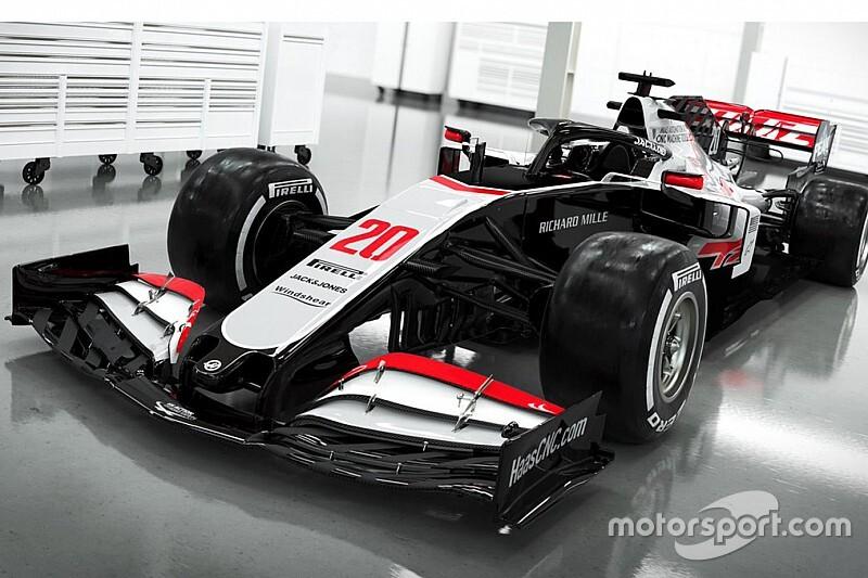 Haas, 2020 F1 aracı VF-20'yi tanıttı!