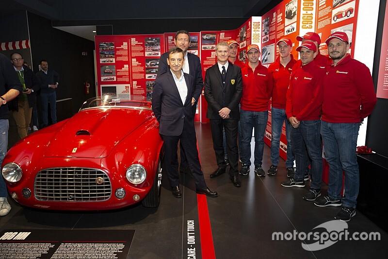 Ferrari at 24 Heures du Mans: la mostra inaugurata da Fillon e Neveu