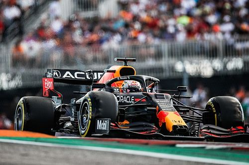 """Red Bull: Verstappen's tyres """"down to the canvas"""" made US GP win doubtful"""