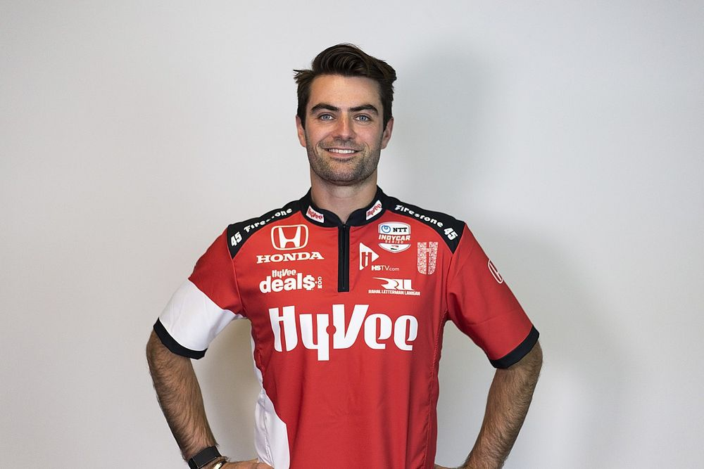 Harvey confirmed in RLL's #45 Hy-Vee IndyCar for 2022