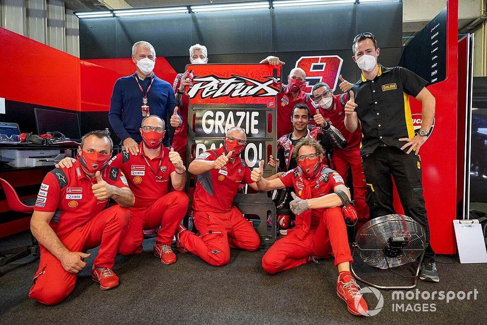 """Petrucci: """"Grazie Ducati! Ora sono curioso di scoprire la KTM"""""""