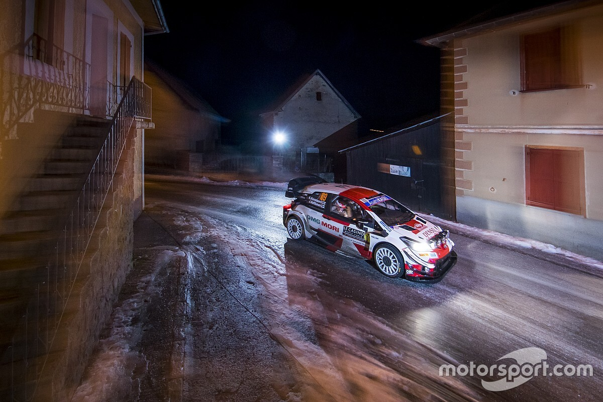 WRC: el Rally de Montecarlo 2021, en vídeos