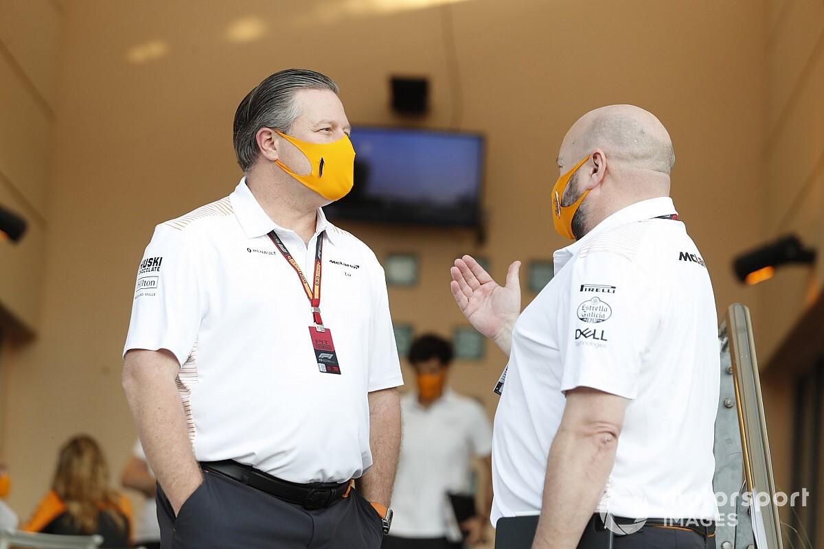 A McLaren vezérigazgatója zseniális poszttal indította 2021-et (kép)