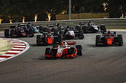 Видео: Шумахер и Ниссани сталкиваются в квалификации Формулы 2