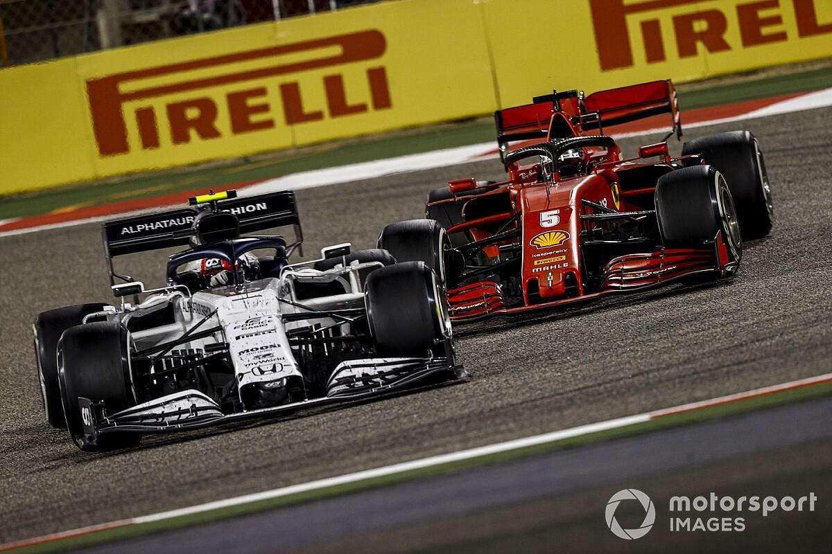 """AlphaTauri lamenta não ter batido Ferrari em 2020: """"Tínhamos um carro mais rápido"""""""
