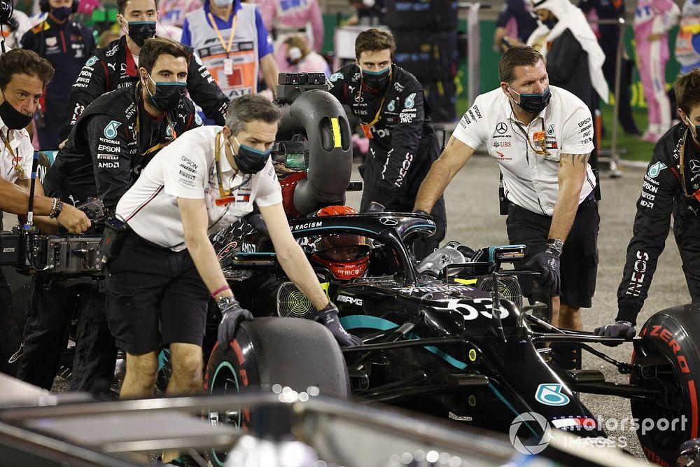 Mercedes y por qué Russell les dejó impresionados