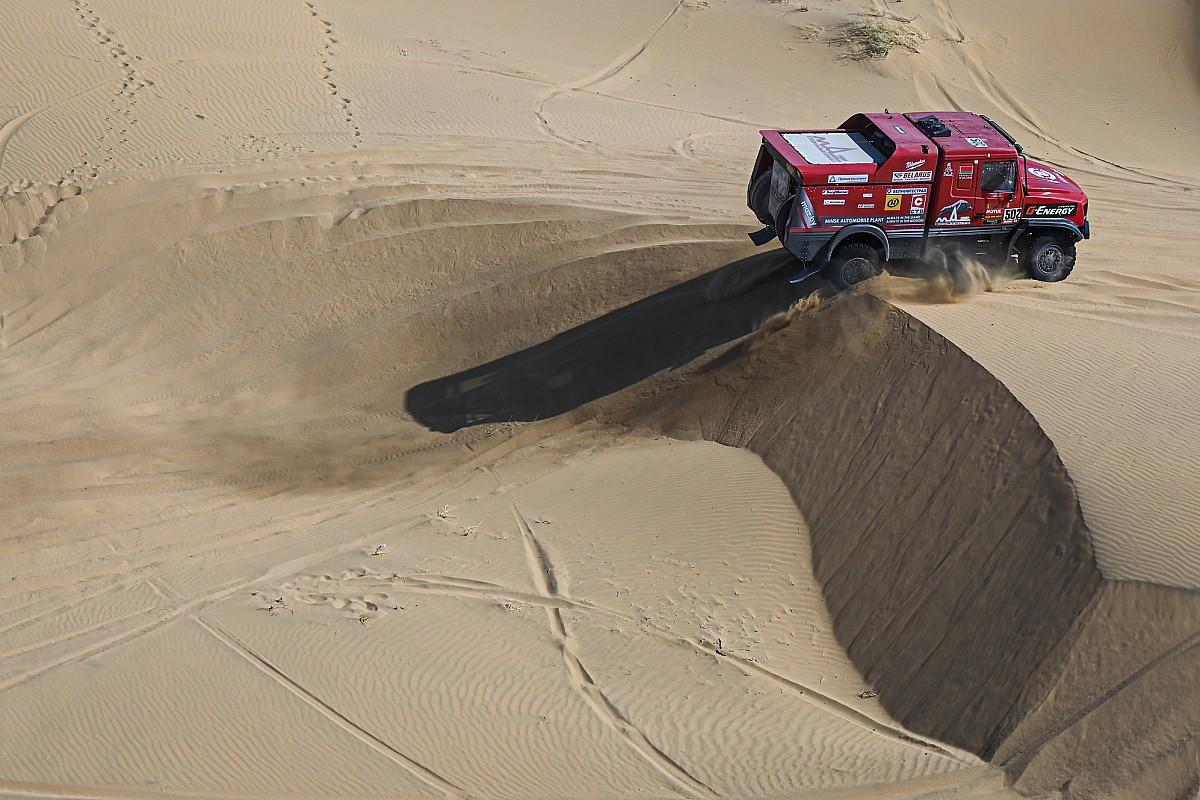 Dakar, Camion, Tappa 3: Viazovich ha fatto il Maz