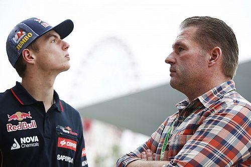 A golpes, la curiosa y violenta motivación de Jos Verstappen a Max