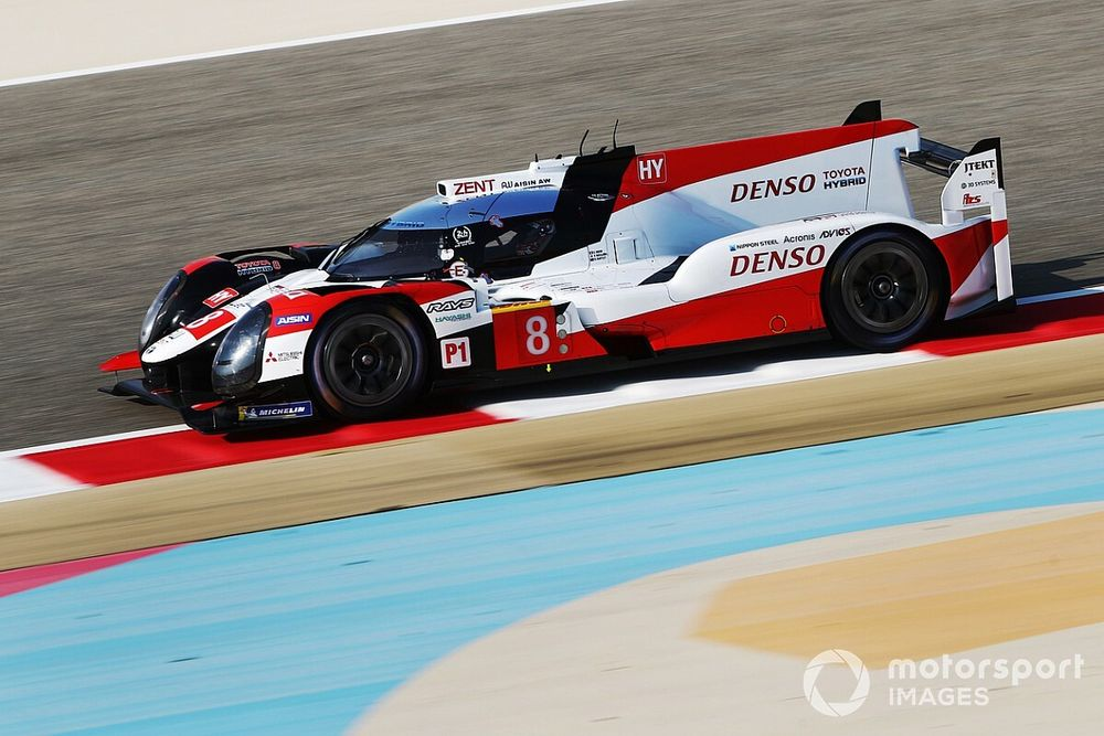 Toyota says #8 car can overcome handicap at Bahrain