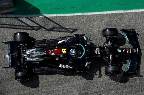 Mercedes sigue de víctima tras liderar el viernes de Imola