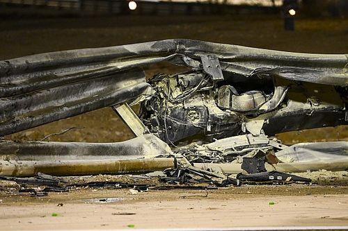"Vettel critica ""falha"" de guard rail e fogo em carro de Grosjean"