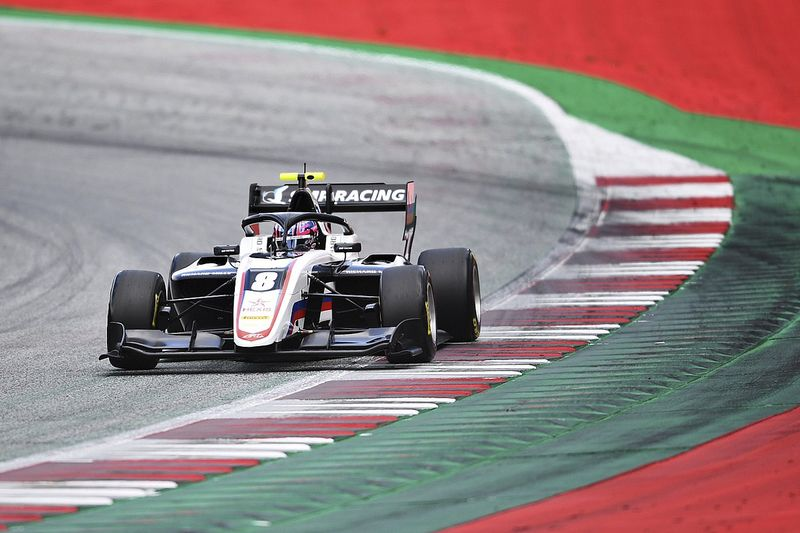 ART's Smolyar tops opening day of F3 test in Austria