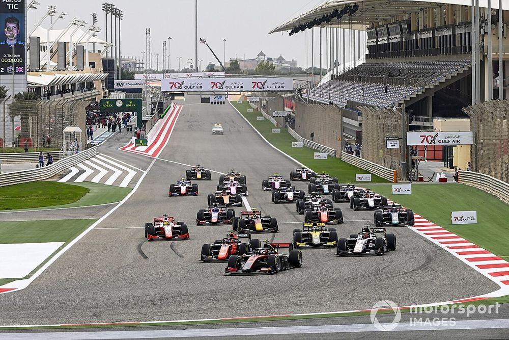 F2: due Sprint Race al sabato e Feature Race la domenica