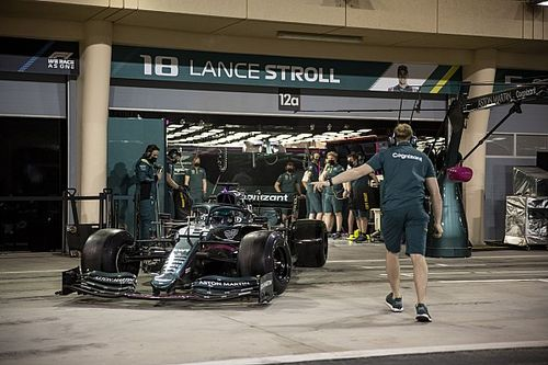 """Stroll: """"Mercedes güç ünitesi, geçen senekiyle aynı hissettiriyor"""""""