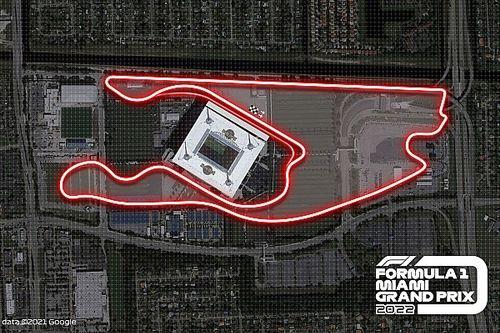 VIDEO: la Fórmula 1 exhibe la vuelta al circuito de Miami
