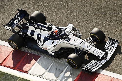 角田、最新F1マシン初走行で5番手「たくさんのことを学び、前進することができた」