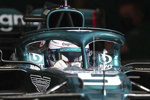 Las dificultades que afronta Vettel con el coche de Aston Martin