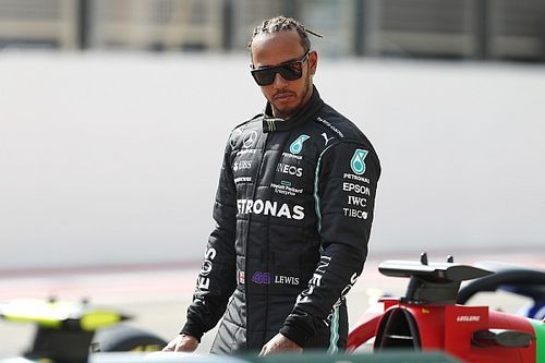 Hamilton shuffles his F1 management team after Hynes's exit