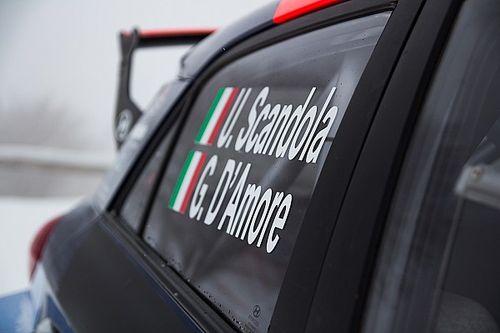 ERC: infortunio per Guido D'Amore al Rally Liepaja