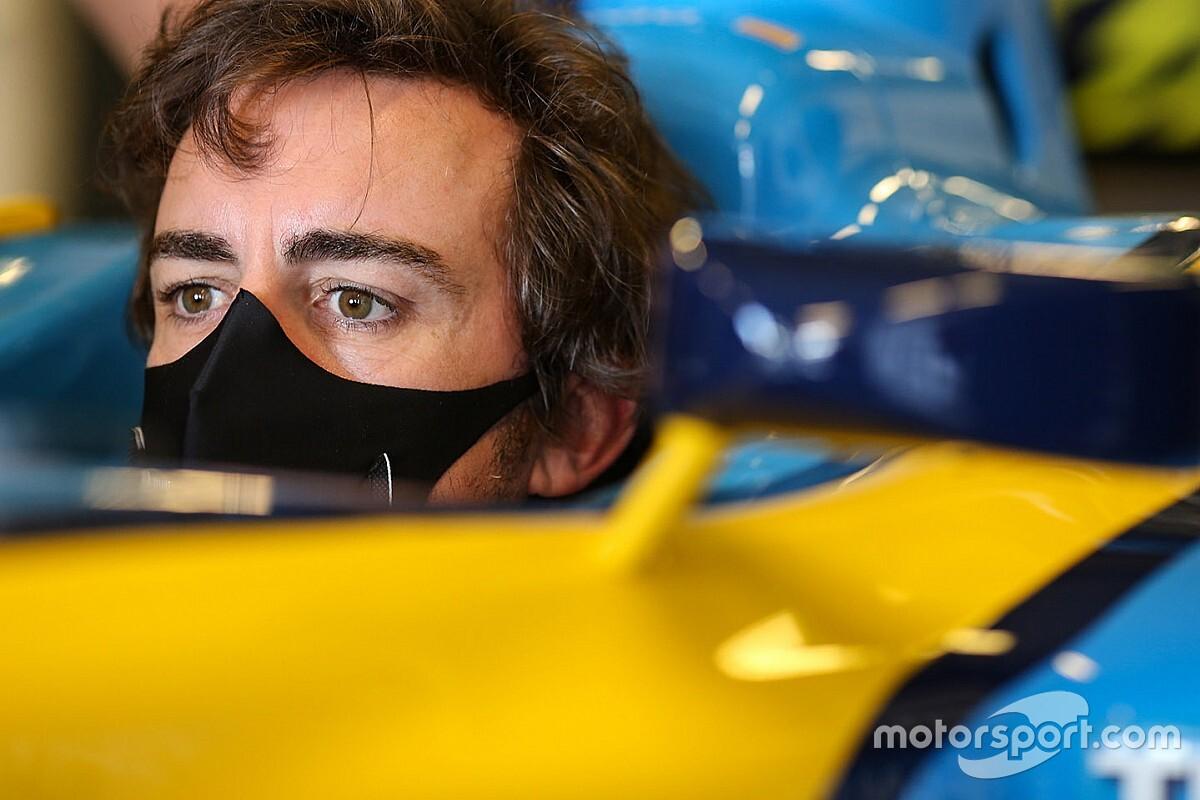 """Alonso """"fiatalnak"""" és """"élesnek"""" érzi magát F1-es visszatérése előtt"""
